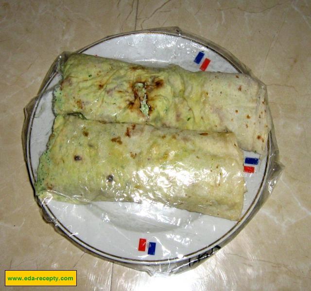 Лаваш с лососем пошаговый рецепт с
