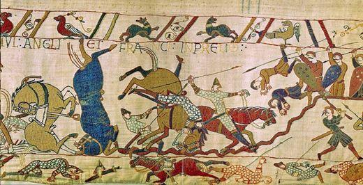 Британцы вышивали гобелен почти 1000 лет