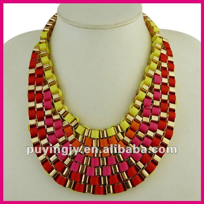 High_Quality_Trendy_Bohemian_Style_Handmade_Colore_Fabric_Rope_Necklace_Bib_Statement_Jewelry (680x680, 77Kb)