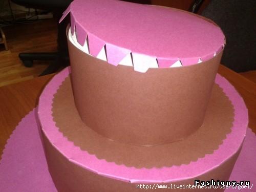 Макет торта как сделать