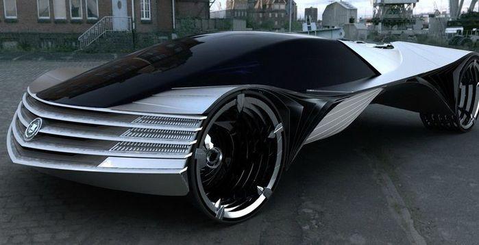 автомобиль на ядерном топливе Cadillac WTF  (700x358, 43Kb)