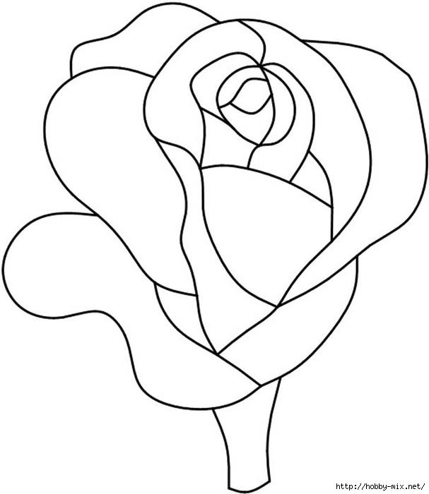 4redrose (607x700, 92Kb)