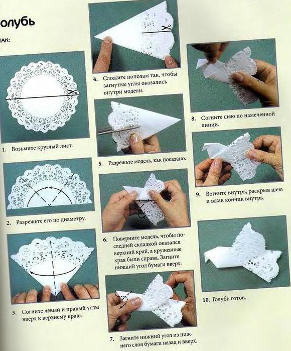 Как сделать птичек из салфеток