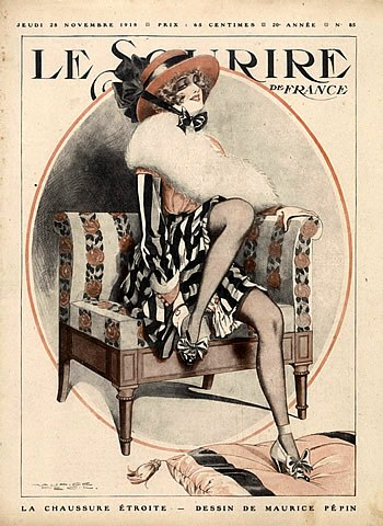33708-maurice-pepin-1918-the-narrow-shoe-elegant-parisienne-art-nouveau-style-hprints-com (350x480, 63Kb)