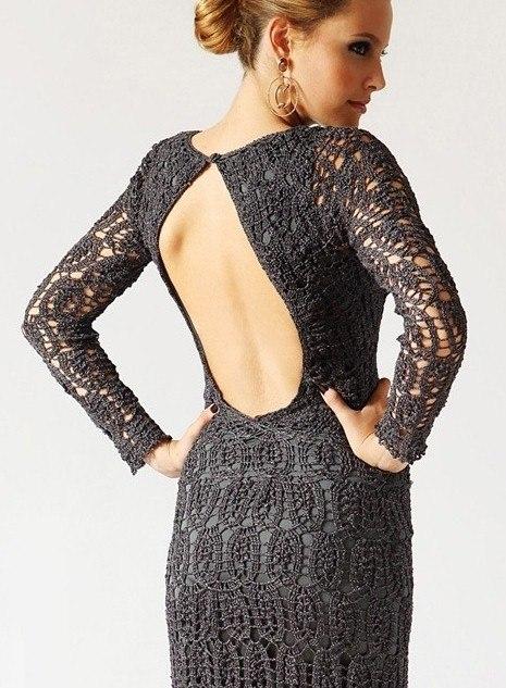Элегантное платье в темных