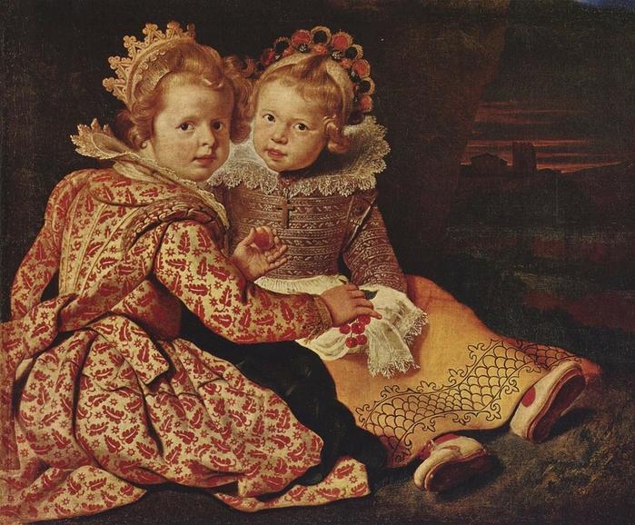 Cornelis de VOS - Madeleine et Jean-Baptiste de Vos (700x578, 381Kb)