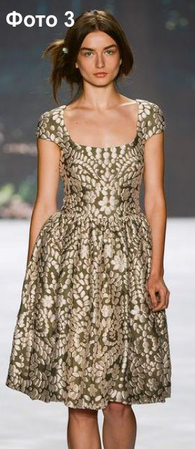 Фото моделей платьев из шитья
