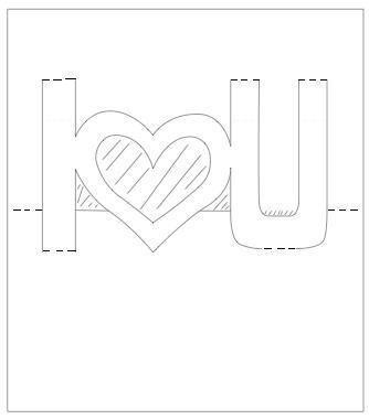 3d шаблоны для открыток