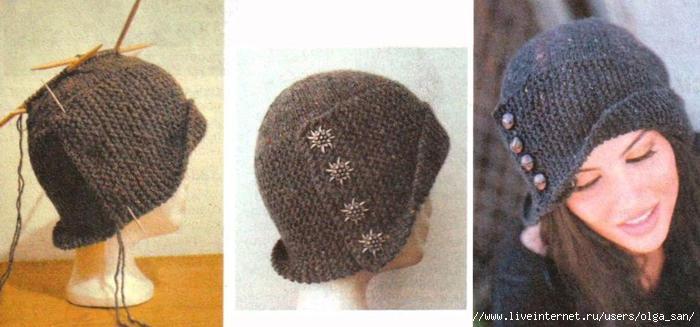 Как связать шапку своими руками мастер класс