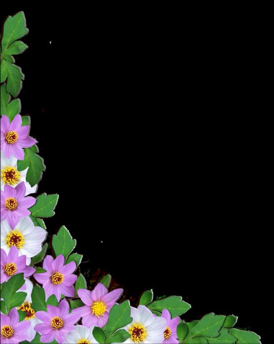 Уголки Из Цветов