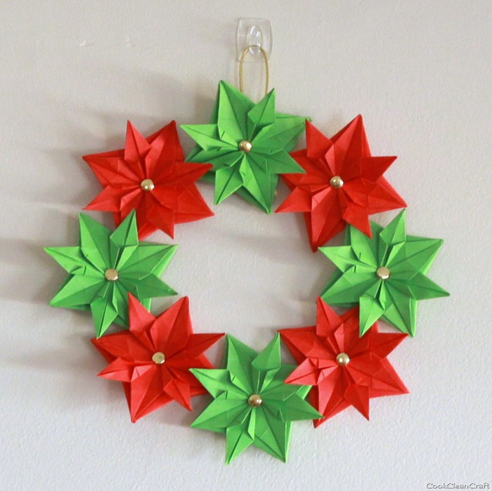 цветы из бумаги-мастер класс-оригами (700x699, 109Kb)