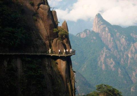 Дорога в горах, Непал (480x336, 22Kb)
