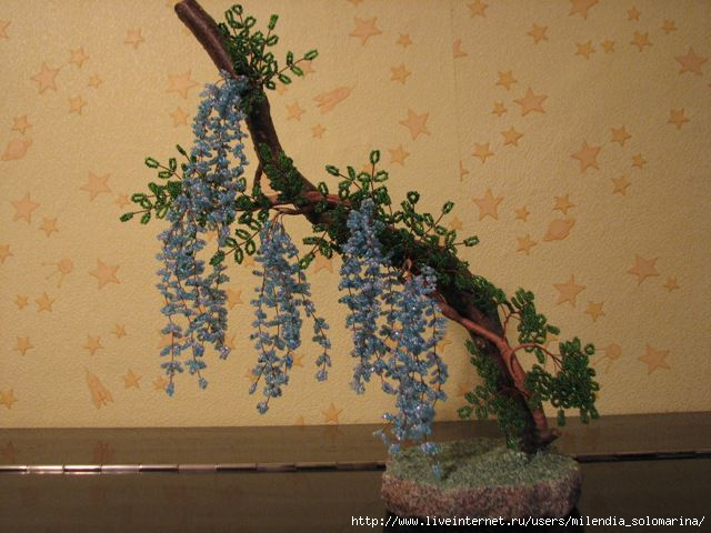 Бисероплетение схемы цветы и деревья - Делаем фенечки своими руками.