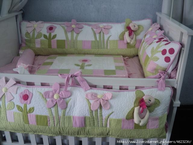 Это цитата сообщения TomaMos Оригинальное сообщениеКак сшить бортик для детской кроватки Как сшить бортик для детской...