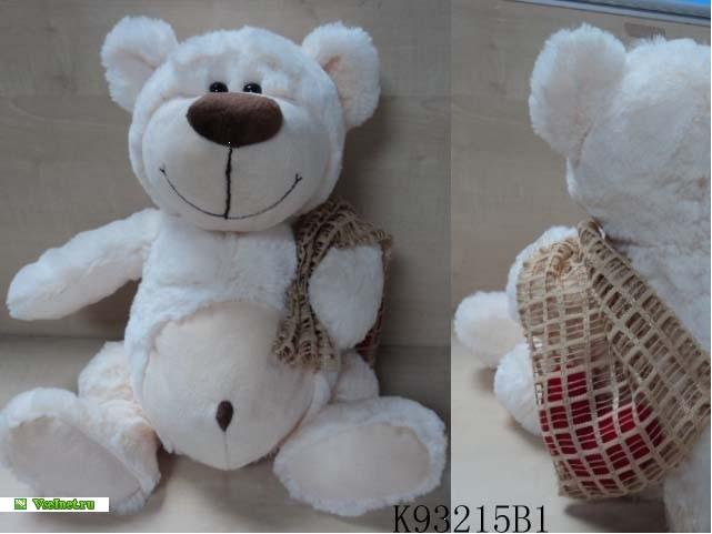 Медведь K93215B1 с сердцем в мешочке 31см (641x481, 45Kb)