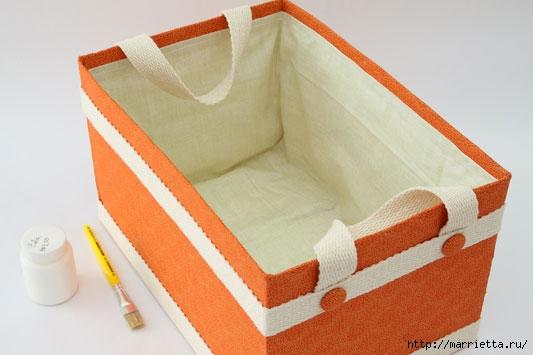 Как оформить коробку своими руками для хранения вещей