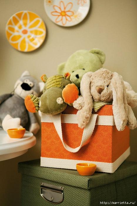 Места для хранения игрушек своими руками