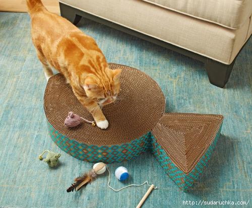 Домик для кота чертеж