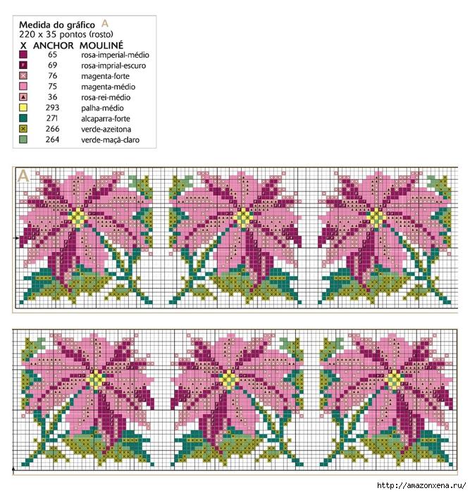 схема вышивки (667x700, 382Kb)