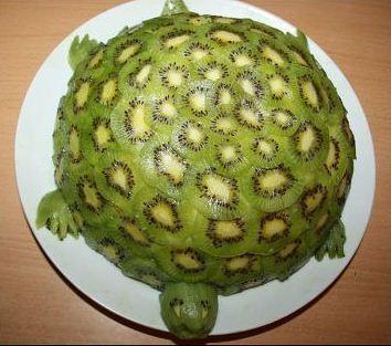 Торт «Изумрудная черепашка» Кулинарный рецепт