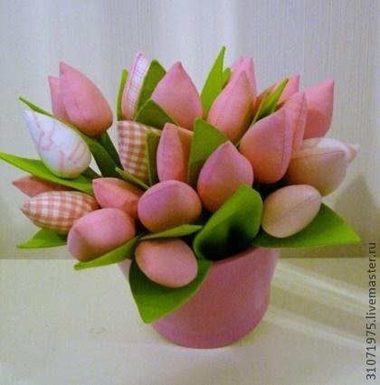 Цветок своими руками тюльпан