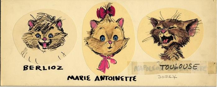 Как звали котят в котах аристократах