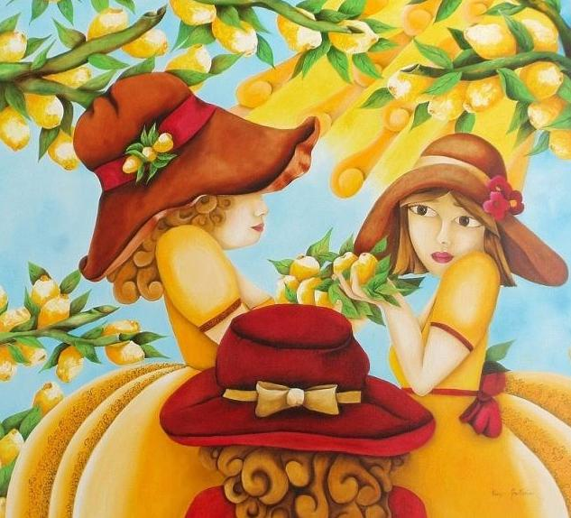 Donnine alla raccolta di limoni (633x574, 65Kb)