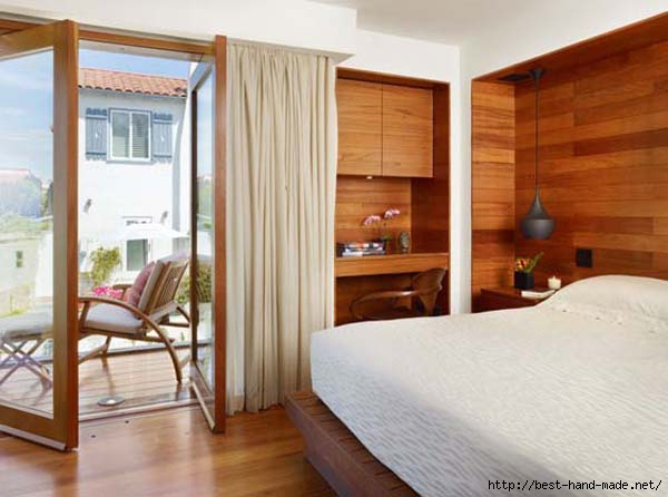 Interior small bedroom