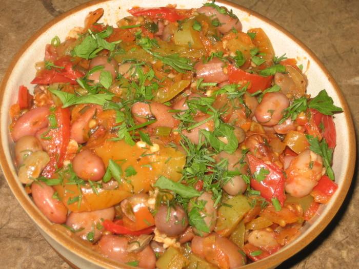 Рецепты фасоли вторых блюд простые и вкусные