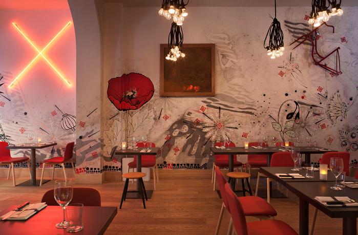 красивый дизайн ресторана 7 (700x459, 176Kb)