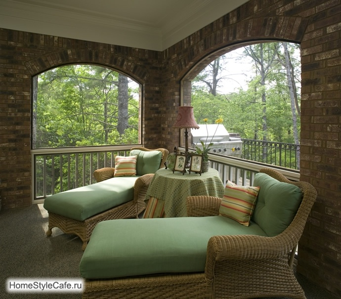 Открытые веранды на даче фото