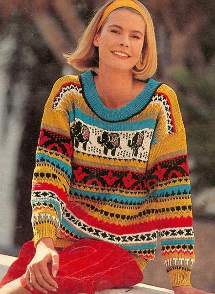 Пуловер Жаккардом С Доставкой