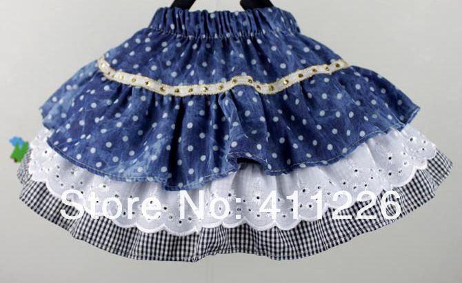 Сшить юбку из воланов для девочки своими руками