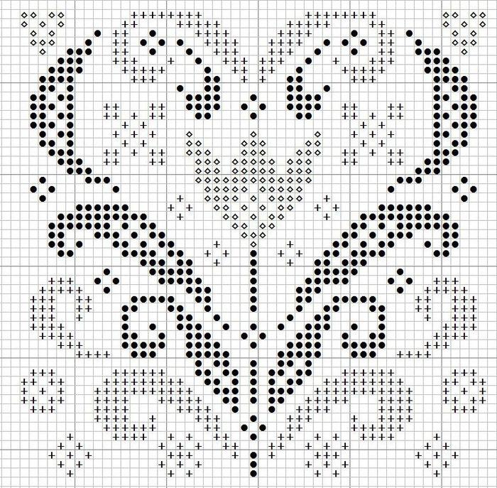 Сердечный год,март (700x687, 235Kb)