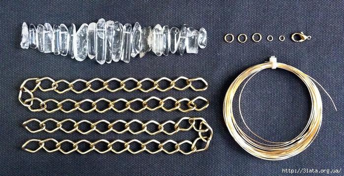 quartz-necklace-supplies (700x357, 299Kb)
