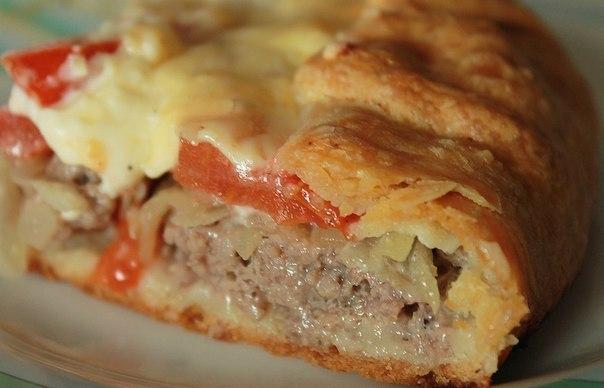 Открытый мясной пирог (604x388, 41Kb)