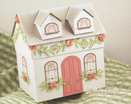 Бумажный домик.