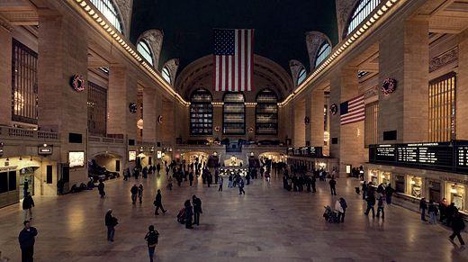 Самый большой вокзал мира отметил юбилей Фотографии
