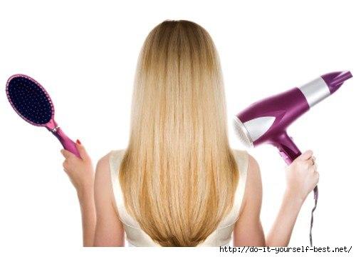 Можно ли сушить волосы феном 6