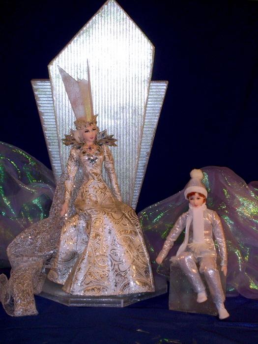 Кукла снежной королевы своими руками