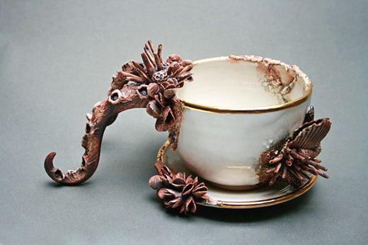 Коллекция креативной посуды Bottom Feeders. Фотографии