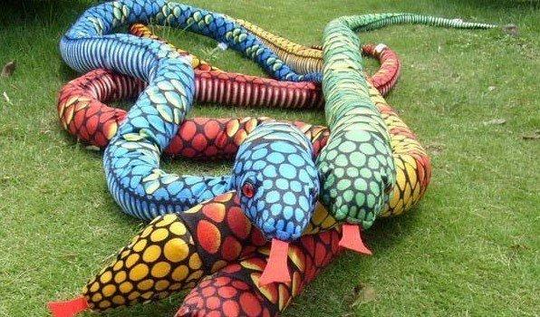 Как сделать мягкую игрушку «Змейка»