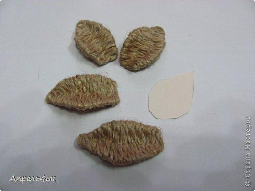 букет из шпагата и апельсина (5) (520x390, 22Kb)