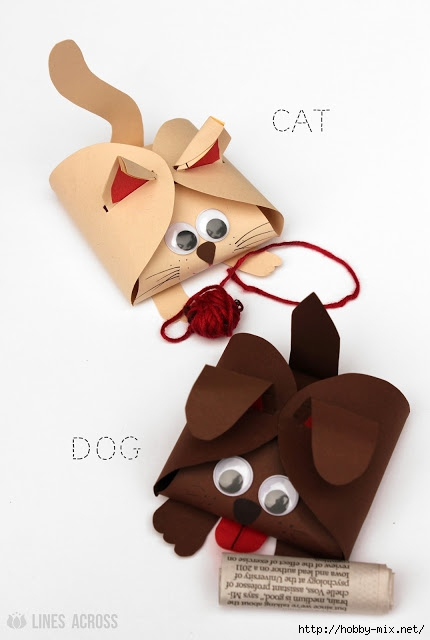 Dog and Cat Cardstock Gift Boxes (430x640, 99Kb)