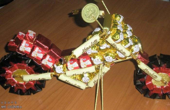 Делаем подарки своими руками из конфет