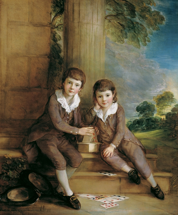 Thomas Gainsborough English, 1727-1788. Master John Truman-Villebois and his Brother Henry, ca. 1783 (579x700, 344Kb)
