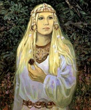 Древняя Русь 30, славянская дива (311x374, 28Kb)