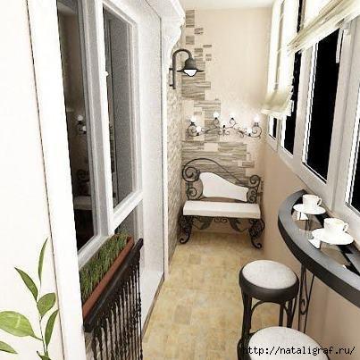 идеи балкона фото