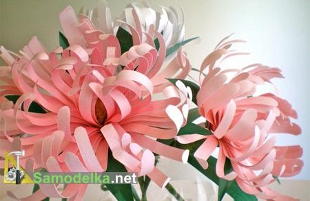 Эти самодельные бумажные цветы