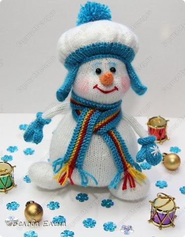 Вязаные снеговики спицами мастер класс - Automee-s.ru